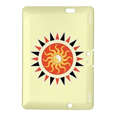 Yin Yang Sunshine Kindle Fire Hdx 8 9  Hardshell Case by linceazul