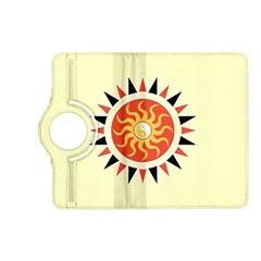 Yin Yang Sunshine Kindle Fire Hd (2013) Flip 360 Case by linceazul