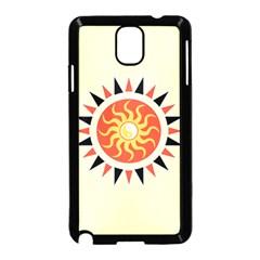 Yin Yang Sunshine Samsung Galaxy Note 3 Neo Hardshell Case (black) by linceazul