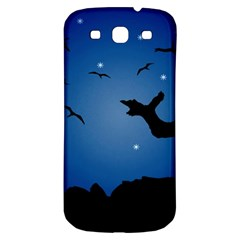 Nightscape Landscape Illustration Samsung Galaxy S3 S Iii Classic Hardshell Back Case by dflcprints