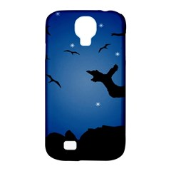 Nightscape Landscape Illustration Samsung Galaxy S4 Classic Hardshell Case (pc+silicone) by dflcprints