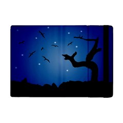 Nightscape Landscape Illustration Ipad Mini 2 Flip Cases by dflcprints