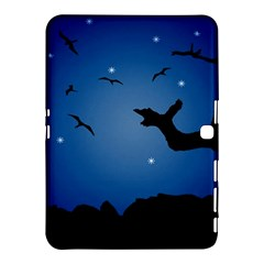 Nightscape Landscape Illustration Samsung Galaxy Tab 4 (10 1 ) Hardshell Case  by dflcprints