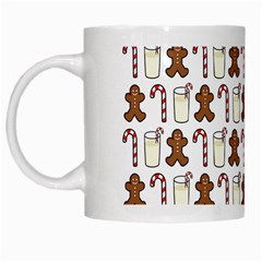 Christmas Trio Pattern White Mugs by Nexatart