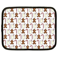 Christmas Trio Pattern Netbook Case (xxl)