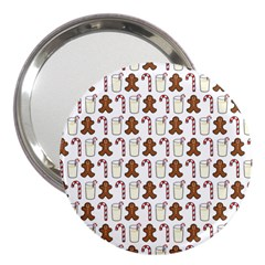 Christmas Trio Pattern 3  Handbag Mirrors by Nexatart