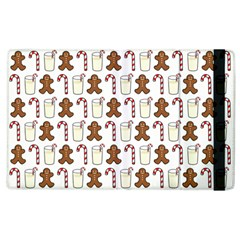 Christmas Trio Pattern Apple Ipad 3/4 Flip Case by Nexatart
