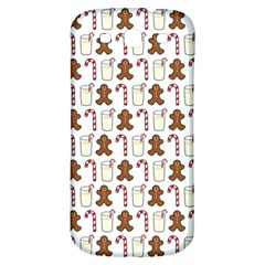 Christmas Trio Pattern Samsung Galaxy S3 S Iii Classic Hardshell Back Case