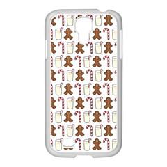 Christmas Trio Pattern Samsung Galaxy S4 I9500/ I9505 Case (white)