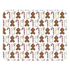 Christmas Trio Pattern Double Sided Flano Blanket (large)  by Nexatart