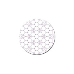 Density Multi Dimensional Gravity Analogy Fractal Circles Golf Ball Marker by Nexatart