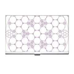 Density Multi Dimensional Gravity Analogy Fractal Circles Business Card Holders by Nexatart