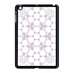 Density Multi Dimensional Gravity Analogy Fractal Circles Apple Ipad Mini Case (black)