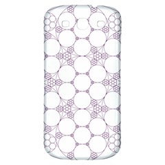 Density Multi Dimensional Gravity Analogy Fractal Circles Samsung Galaxy S3 S Iii Classic Hardshell Back Case by Nexatart