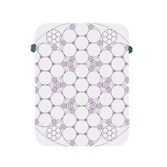 Density Multi Dimensional Gravity Analogy Fractal Circles Apple Ipad 2/3/4 Protective Soft Cases by Nexatart