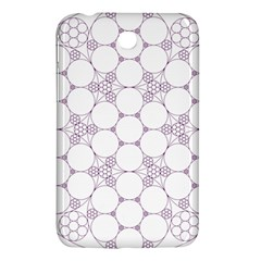 Density Multi Dimensional Gravity Analogy Fractal Circles Samsung Galaxy Tab 3 (7 ) P3200 Hardshell Case  by Nexatart