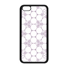 Density Multi Dimensional Gravity Analogy Fractal Circles Apple Iphone 5c Seamless Case (black) by Nexatart