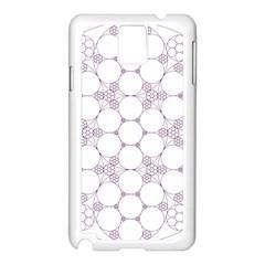 Density Multi Dimensional Gravity Analogy Fractal Circles Samsung Galaxy Note 3 N9005 Case (white)