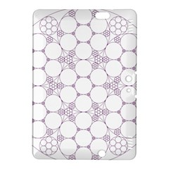 Density Multi Dimensional Gravity Analogy Fractal Circles Kindle Fire Hdx 8 9  Hardshell Case by Nexatart