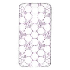Density Multi Dimensional Gravity Analogy Fractal Circles Samsung Galaxy S5 Back Case (white)