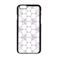 Density Multi Dimensional Gravity Analogy Fractal Circles Apple Iphone 6/6s Black Enamel Case
