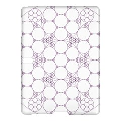 Density Multi Dimensional Gravity Analogy Fractal Circles Samsung Galaxy Tab S (10 5 ) Hardshell Case  by Nexatart