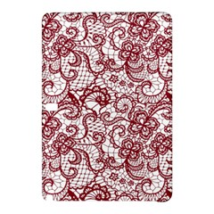 Transparent Lace With Flowers Decoration Samsung Galaxy Tab Pro 12 2 Hardshell Case by Nexatart
