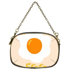 Egg Eating Chicken Omelette Food Chain Purses (one Side)  by Nexatart