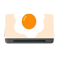 Egg Eating Chicken Omelette Food Memory Card Reader With Cf by Nexatart