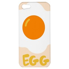 Egg Eating Chicken Omelette Food Apple Iphone 5 Hardshell Case