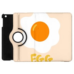Egg Eating Chicken Omelette Food Apple Ipad Mini Flip 360 Case