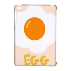 Egg Eating Chicken Omelette Food Apple Ipad Mini Hardshell Case (compatible With Smart Cover) by Nexatart