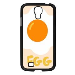 Egg Eating Chicken Omelette Food Samsung Galaxy S4 I9500/ I9505 Case (black) by Nexatart