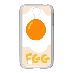 Egg Eating Chicken Omelette Food Samsung Galaxy S4 I9500/ I9505 Case (white)