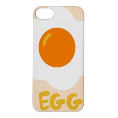 Egg Eating Chicken Omelette Food Apple Iphone 5s/ Se Hardshell Case