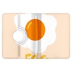 Egg Eating Chicken Omelette Food Kindle Fire Hdx Flip 360 Case