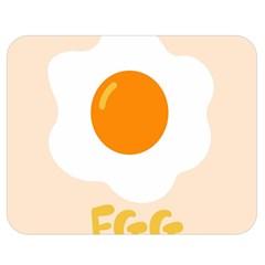 Egg Eating Chicken Omelette Food Double Sided Flano Blanket (medium)