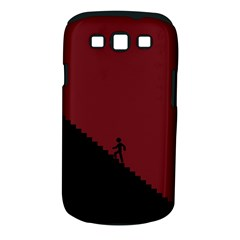 Walking Stairs Steps Person Step Samsung Galaxy S Iii Classic Hardshell Case (pc+silicone) by Nexatart
