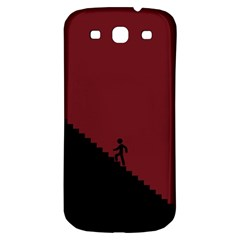 Walking Stairs Steps Person Step Samsung Galaxy S3 S Iii Classic Hardshell Back Case by Nexatart