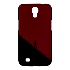 Walking Stairs Steps Person Step Samsung Galaxy Mega 6 3  I9200 Hardshell Case by Nexatart