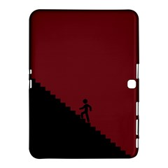 Walking Stairs Steps Person Step Samsung Galaxy Tab 4 (10 1 ) Hardshell Case