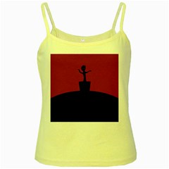Baby Groot Guardians Of Galaxy Groot Yellow Spaghetti Tank