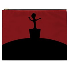 Baby Groot Guardians Of Galaxy Groot Cosmetic Bag (xxxl)  by Nexatart