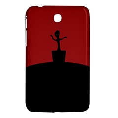 Baby Groot Guardians Of Galaxy Groot Samsung Galaxy Tab 3 (7 ) P3200 Hardshell Case  by Nexatart