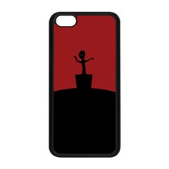 Baby Groot Guardians Of Galaxy Groot Apple Iphone 5c Seamless Case (black) by Nexatart