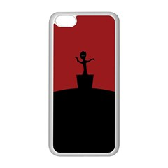 Baby Groot Guardians Of Galaxy Groot Apple Iphone 5c Seamless Case (white) by Nexatart