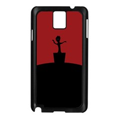 Baby Groot Guardians Of Galaxy Groot Samsung Galaxy Note 3 N9005 Case (black)