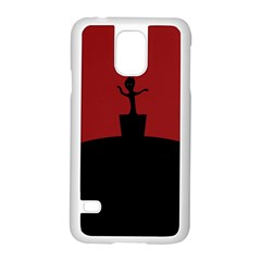 Baby Groot Guardians Of Galaxy Groot Samsung Galaxy S5 Case (white) by Nexatart