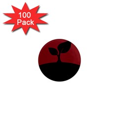 Plant Last Plant Red Nature Last 1  Mini Magnets (100 Pack)  by Nexatart