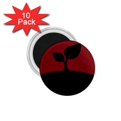 Plant Last Plant Red Nature Last 1 75  Magnets (10 Pack)